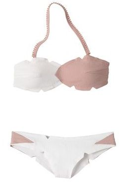 Marysia  Bandeau Top and Brazilian Bottom