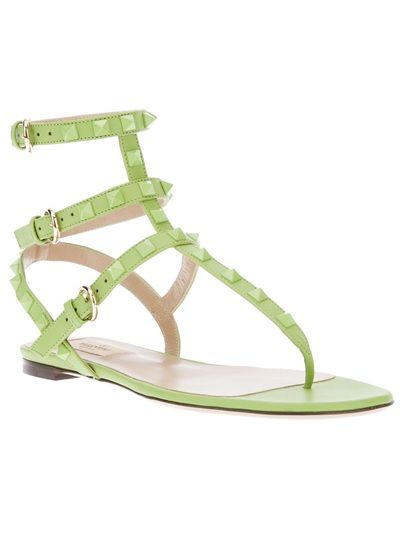 Valentino  Garavani Pop Rockstud Gladiator Sandals