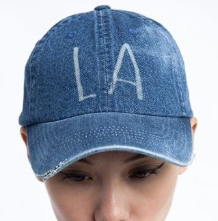 "Denim Refinery  The ""LA"" Denim Cap"