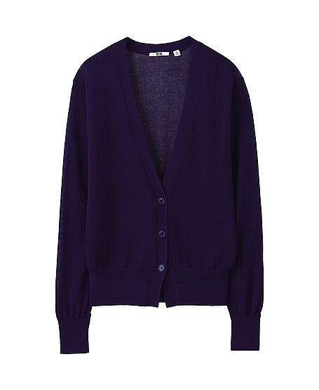 Uniqlo  Women Light V Neck Cardigan
