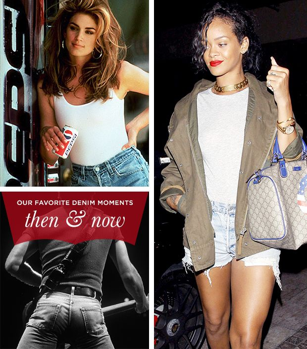 Our Favourite Denim Moments Throughout The Years