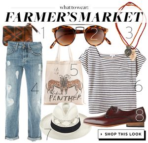 Shop Your Local Farmer's Market In Style
