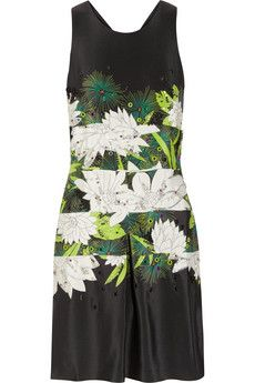 3.1 Phillip Lim Chrysanthemum Embellished Silk Dress