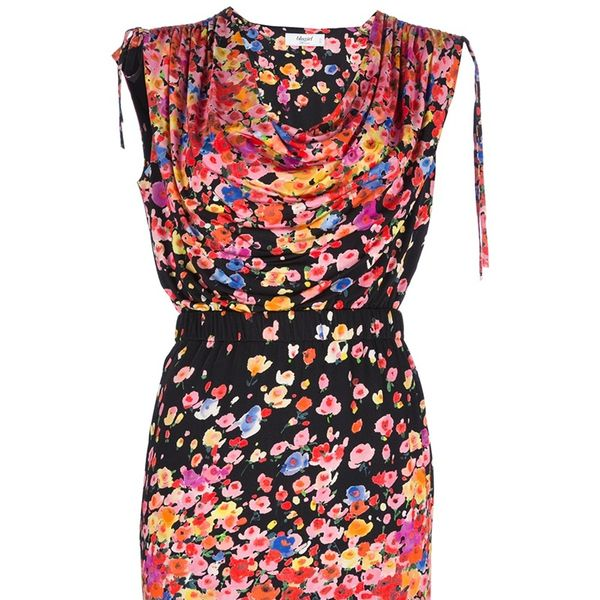 Blugirl Sleeveless Floral Print Dress