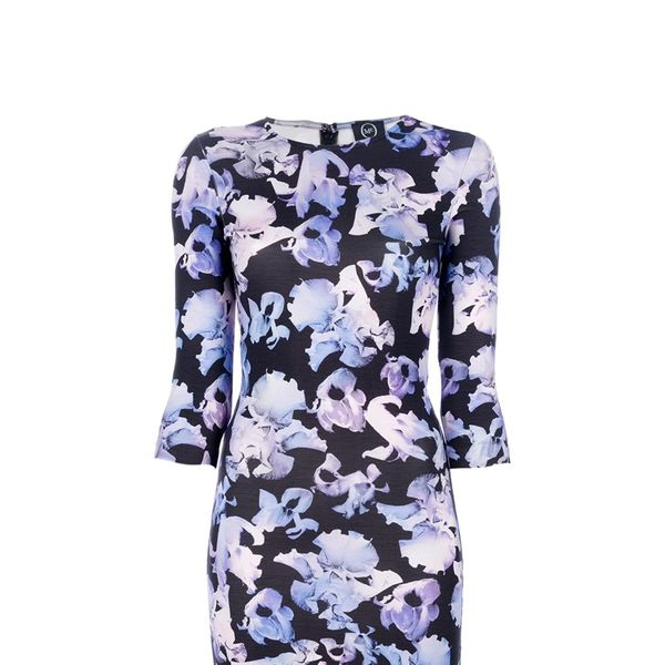 McQ by Alexander McQueen Floral Print Dress