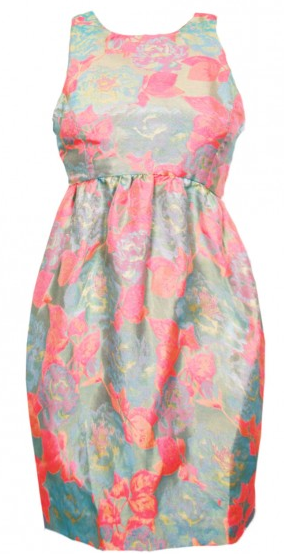 Suno Brocade Floral Dress