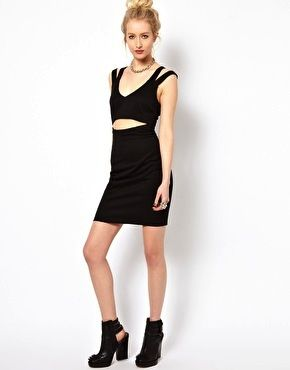 ASOS Kill City Cut Out Dress