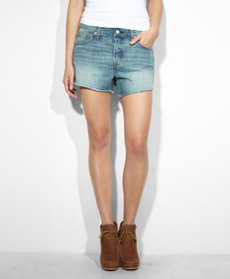Levi's 501 Shorts in Bright Idea