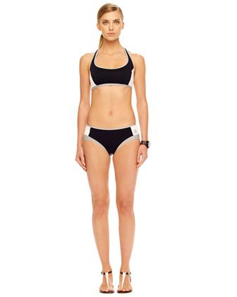MICHAEL Michael Kors  Scuba Two-Piece