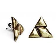 Bing Bang Jewellery Bing Bang Jewellery Trident Stud Earrings