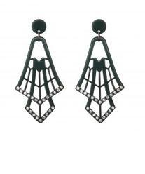 Shopblevel  Shopbevel.com Geometric Earrings