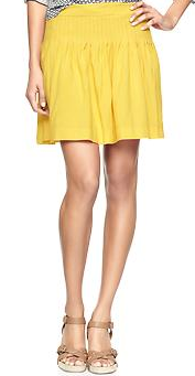 Gap Pintucked Skirt