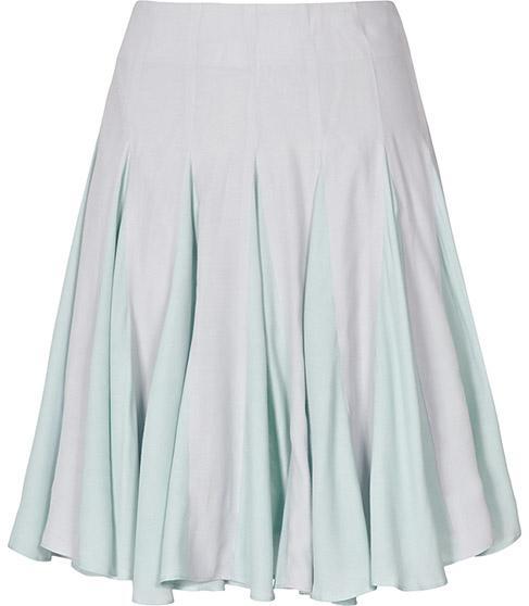 Reiss 1971 Gabby Pleated Flared Skirt