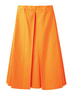 Jacquemus Long Pleated Skirt