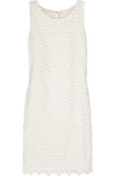 J.Crew Dancing Daisy Cotton-Macramé Dress