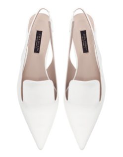 Zara Block Heel Pointed Shoes