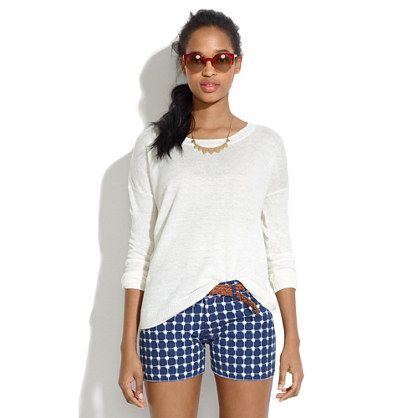 Madewell Linen Studio Sweater