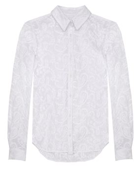 ICB Embroidered Paisley Shirting