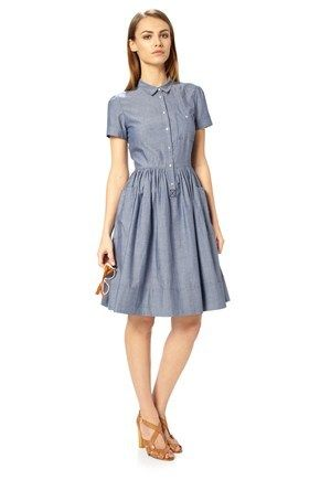French Connection  Charlie Chambray Dress