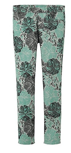 Suno x Uniqlo Green Printed Skinny Fit Pants