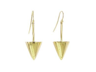 Jennifer Meyer Pyramid Earrings