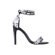 Tibi Tibi Black and White Amber Heels