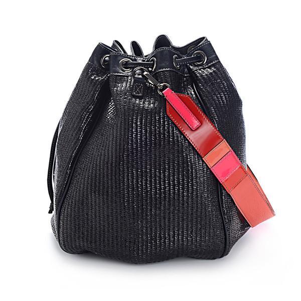 Meredith Wendell  Raffia Circle Handbag