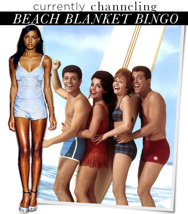 How To Get The Retro Look In Beach Blanket Bingo