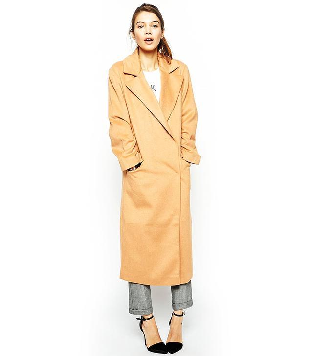 ASOS Coat In Oversized Fit