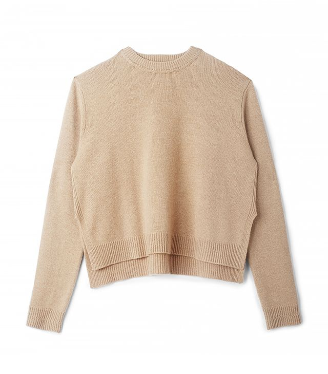 Otte New York Cropped Long Sleeve Sweater