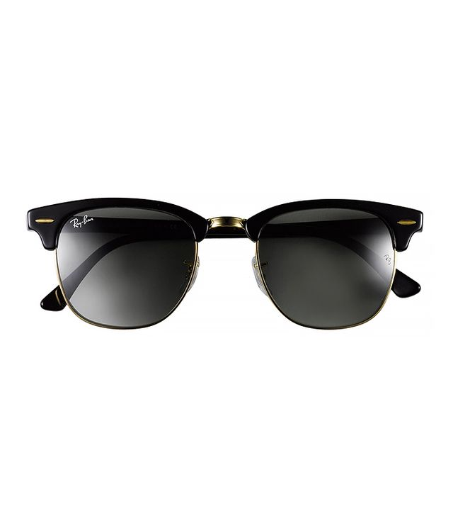 Ray Ban 'Clubmaster' 49mm Sunglasses