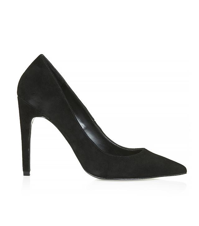 Topshop Gemini Suede Court Shoes