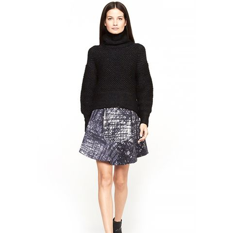 Flannel Print Skirt