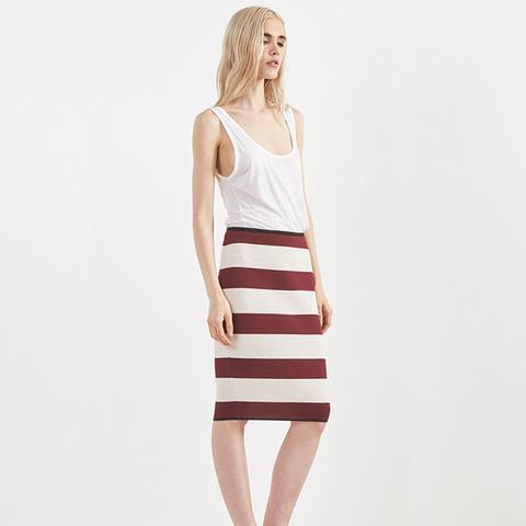 My Skirt in Lar Rubino