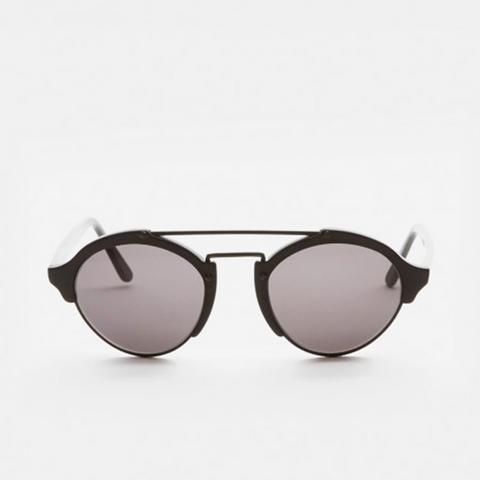Milan Sunglasses in Matte Black