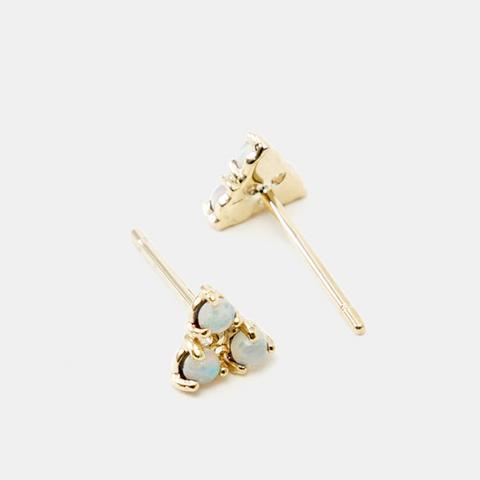 Tri Opal Earrings