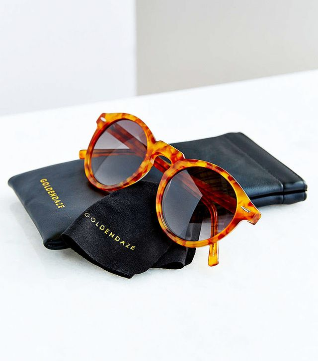 Goldendaze Round Sunglasses