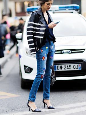 The Trick to Wearing Two Statement Pieces Together