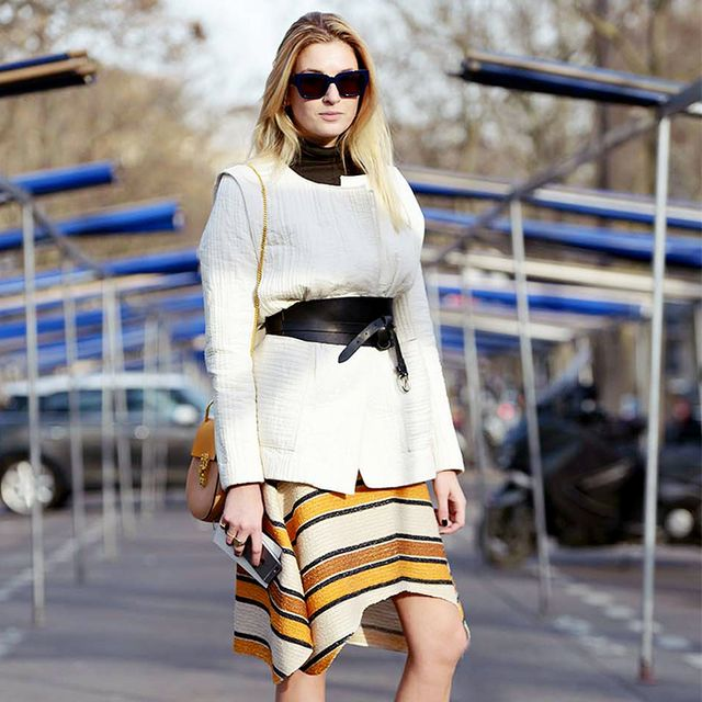 Why We Love a Belted-Jacket Look for the Office