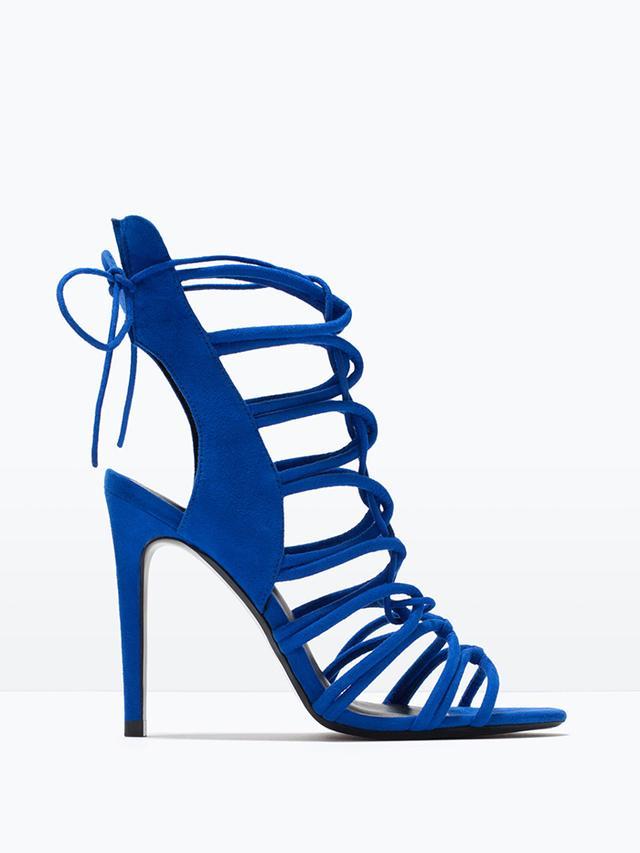 Zara Strappy Slingback Sandals