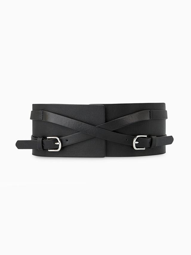 Mango Leather Obi Belt