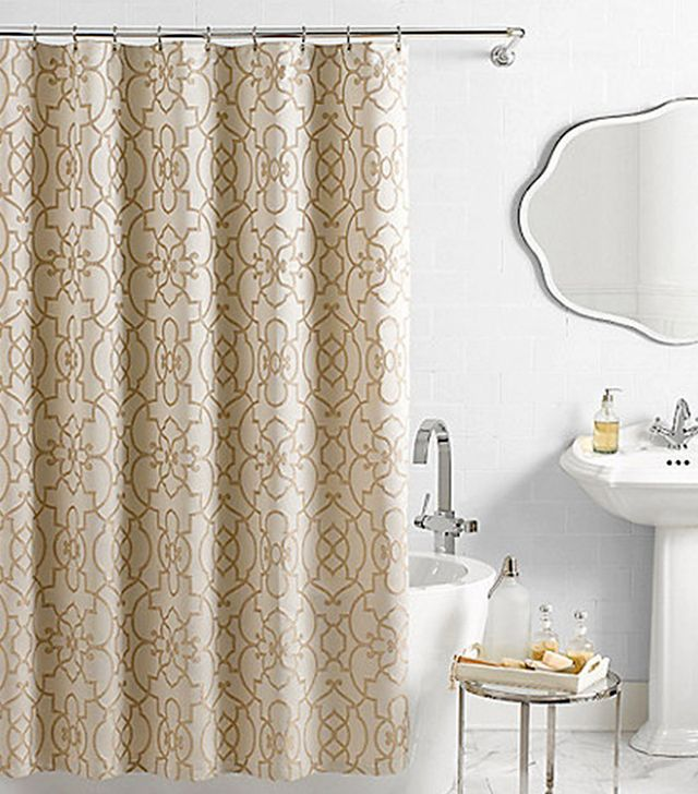 Vue Signature Iron Gates Jacquard Shower Curtain