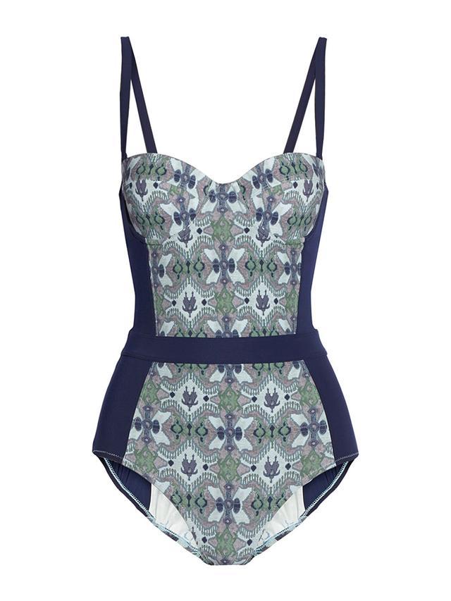 Tory Burch Laguna Printed Swimsuit