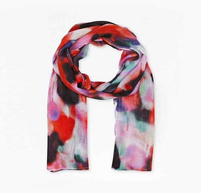 French Connection Brooke Graffiti Scarf