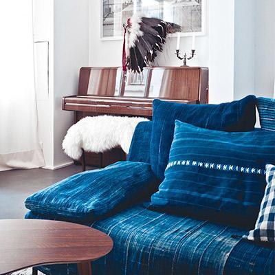 Downright Stylish Ways to Decorate With Denim