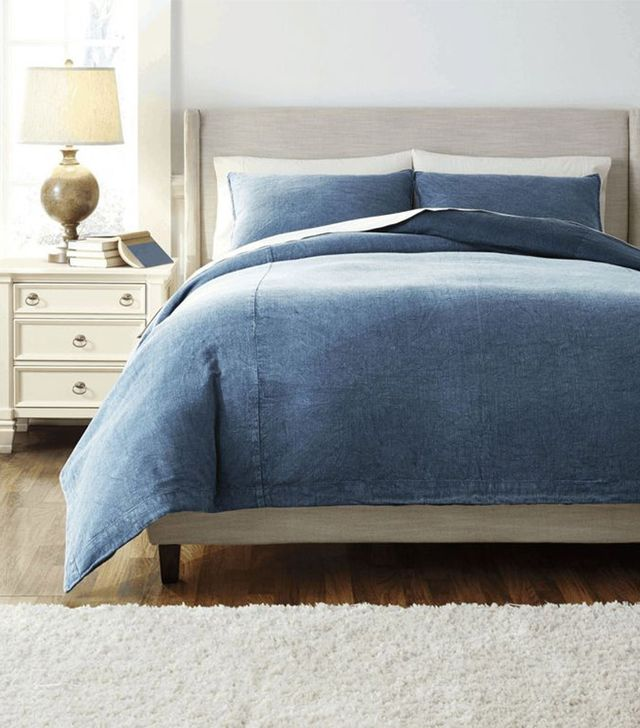 Coleman Furniture Solid King Duvet Set