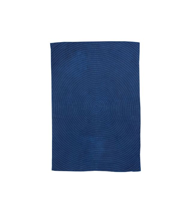 "Folk Fibres ""Ring"" Indigo Wholecloth"