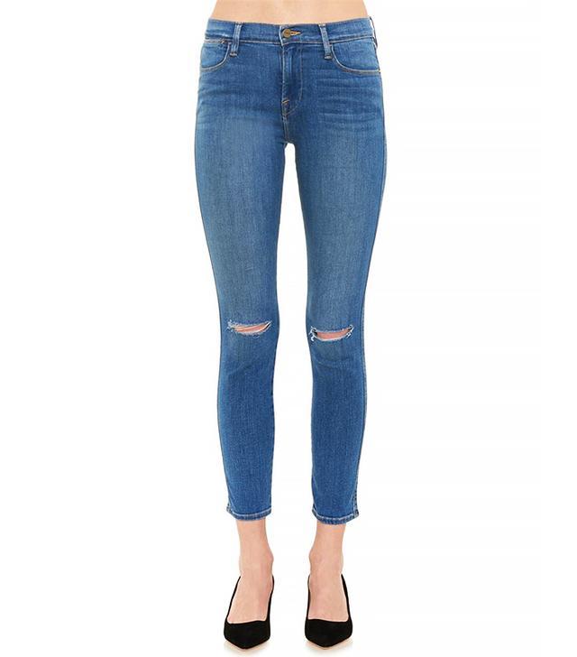 Frame Denim Le High Paloma High-Rise Skinny Jeans