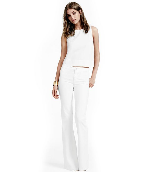 J Brand Tailored High-Rise Flares