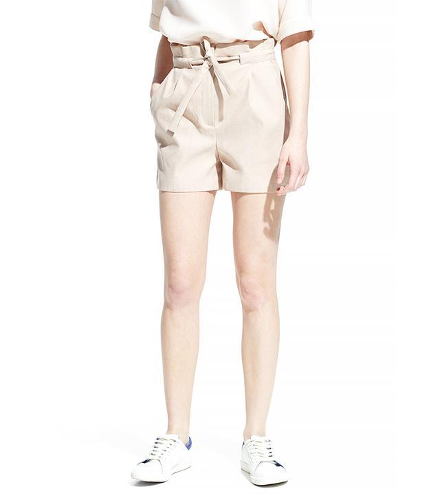 Mango Snake-Effect Shorts